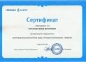 сертификат МЦФЭР
