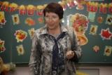 Учитель на первом уроке